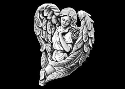 Z-BROWN - Angel (5p25x6p25) R6
