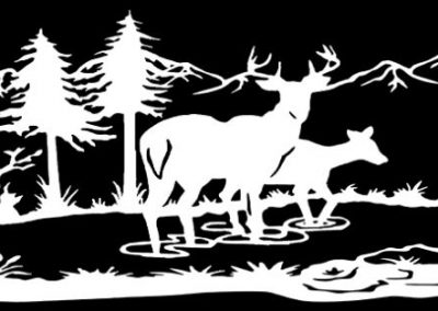 Z-OLSON-Deer Scene (25p964x10p2) R9